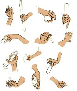 illustration Les mains ont la parole