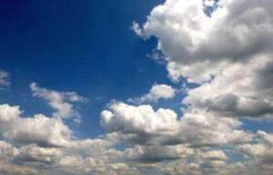 illustration derrière les nuages brille le soleil