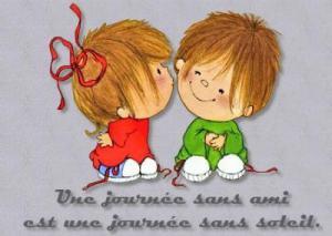 illustration A mes amis(es)