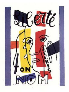 illustration Liberté ( Grand Maître des poètes : Paul Eluard )